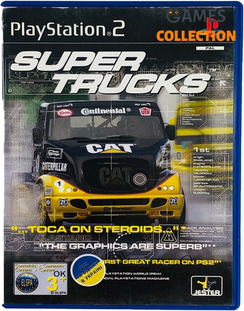 Super Trucks Racing (PS2) Б/У-thumb