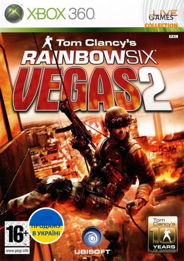 Tom Clancy's Rainbow Six: Vegas 2 (XBOX 360) Б/У-thumb