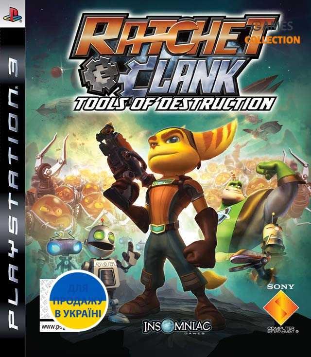 Ratchet & Clank: Tools of Destruction (PS3)-thumb
