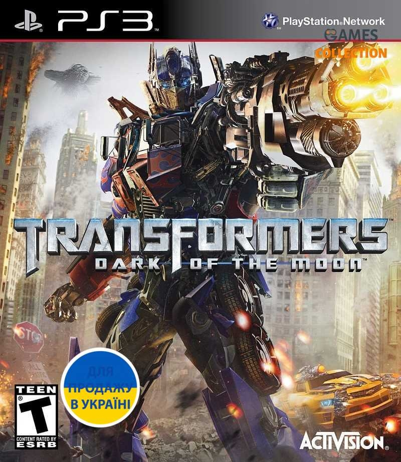 Transformers: Dark of the Moon (PS3)-thumb
