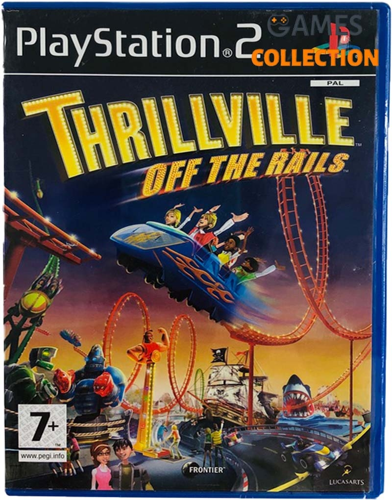 Thrillville: Off the Rails (PS2) Б/У-thumb