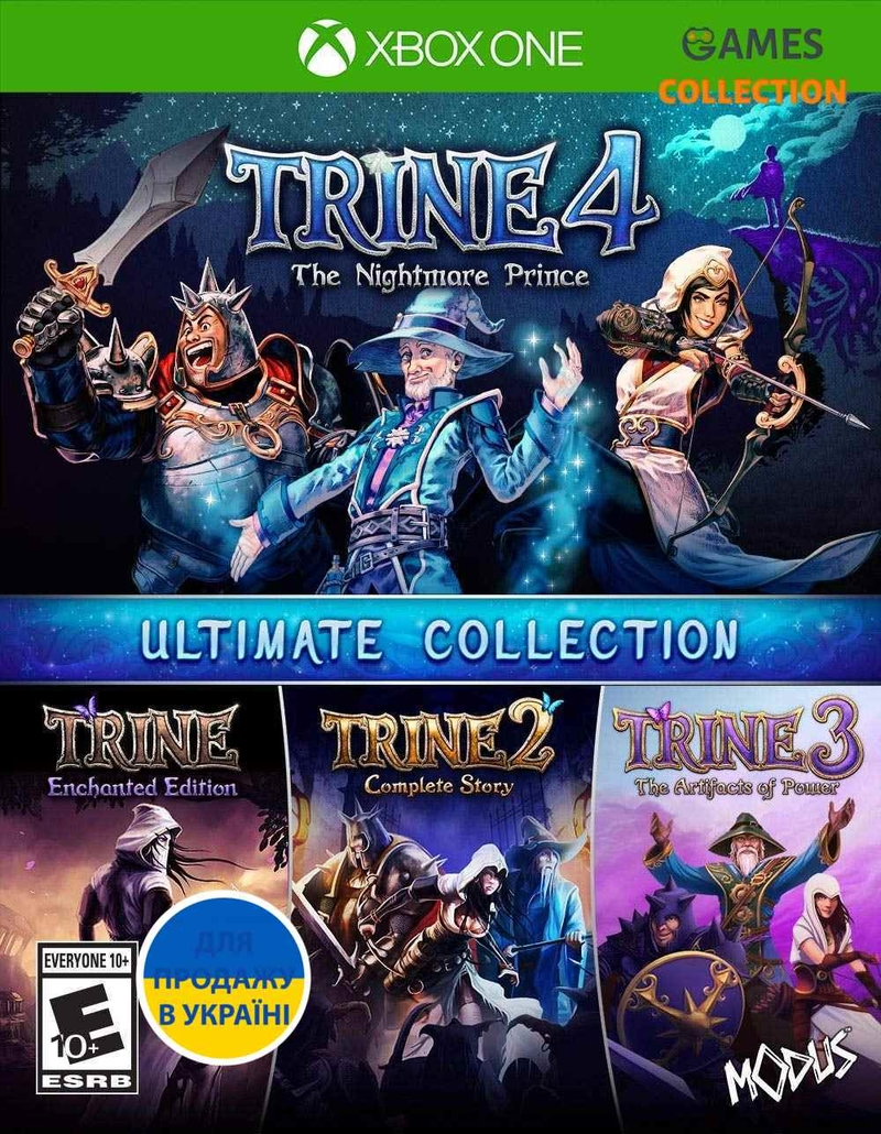 Trine: Ultimate Collection (XBox One)-thumb