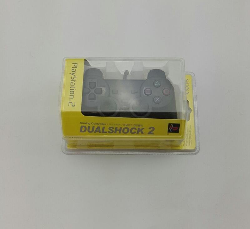 Джойстик PS2 – Dualshock 2 проводной (Блистер) (Черный)-thumb