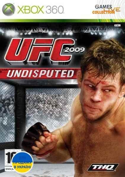 UFC 2009 Undisputed (XBOX360) Б/у-thumb