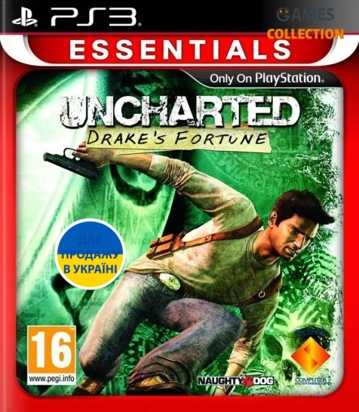 Uncharted: Drakes Fortune (ESN) (PS3)-thumb