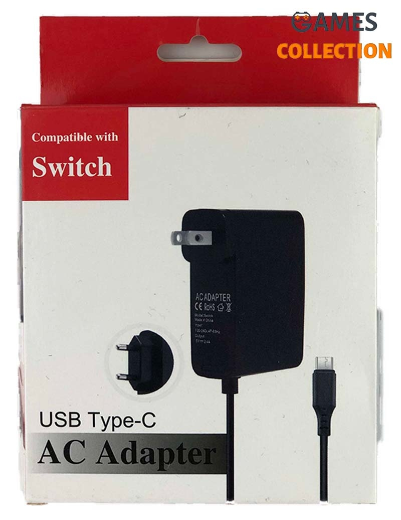 AC Adapter USB Type-c (Nintendo Switch)-thumb