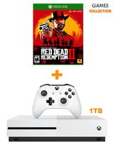 MICROSOFT XBOX ONE SLIM 1TB+RED DEAD REDEMPTION 2 (XBOX ONE) (ВАУЧЕР)-thumb