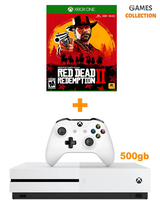 XBOX ONE S 500GB + RED DEAD REDEMPTION 2 (XBOX ONE) (ВАУЧЕР)-thumb