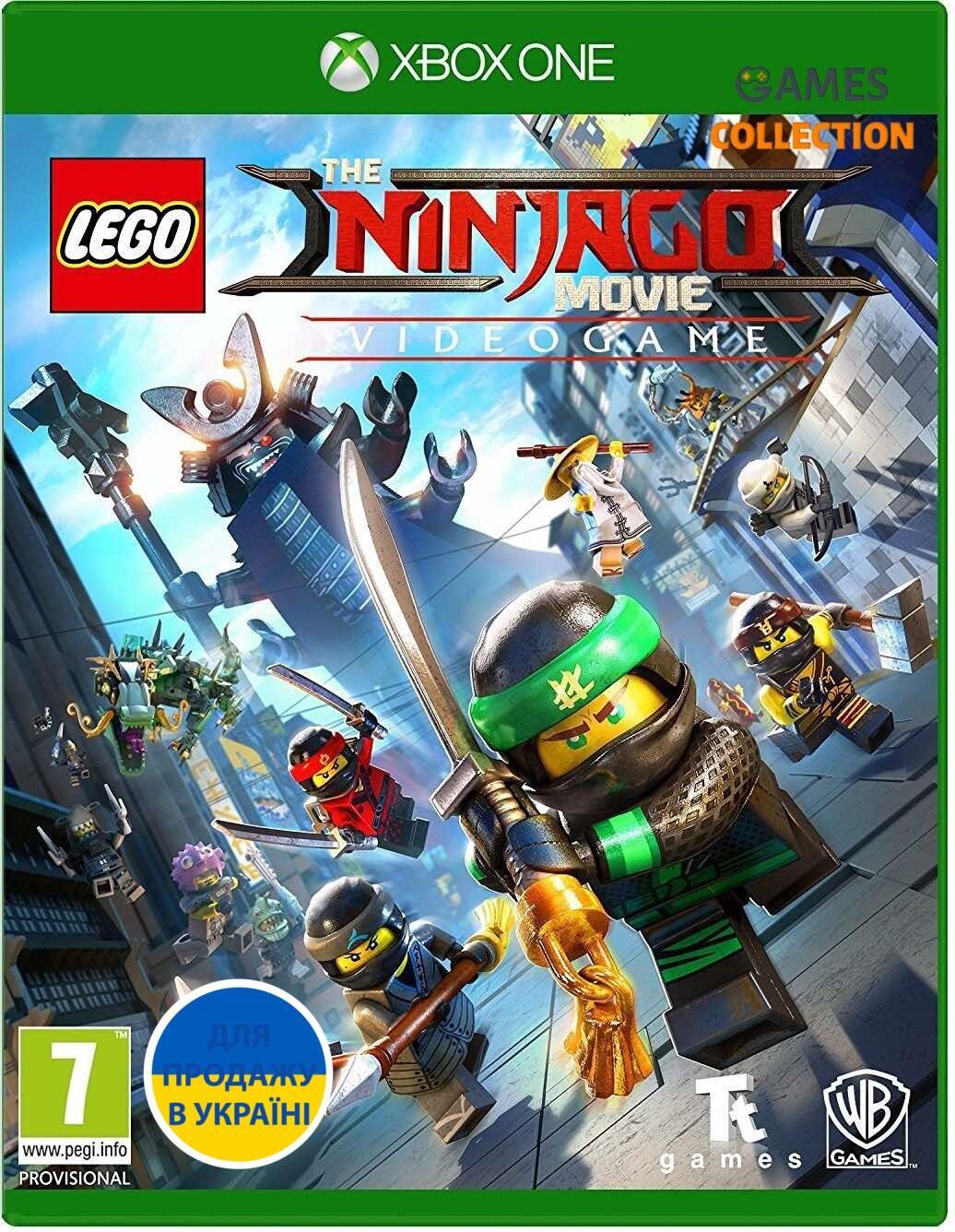 LEGO Ninjago Movie Game (Xbox One)-thumb