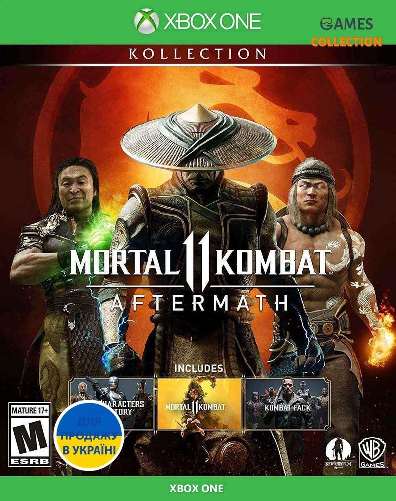 Mortal Kombat 11: Aftermath (XBox One)-thumb