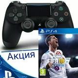 DUAL SHOCK 4 V2+FIFA 18 PS4-thumb