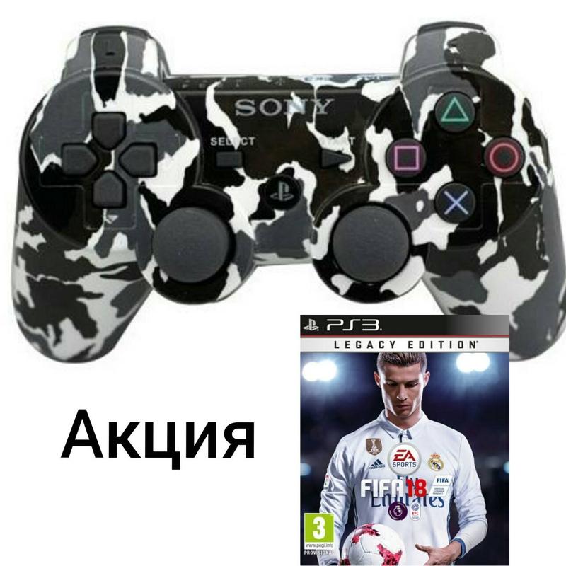 Fifa18 (PS3) + Dual shock 3-thumb