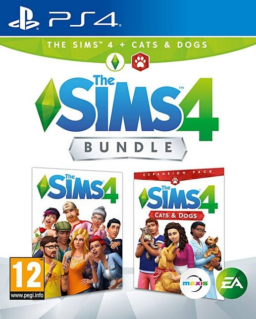 The Sims 4: Cats & Dogs Expansion Pack (PS4)-thumb