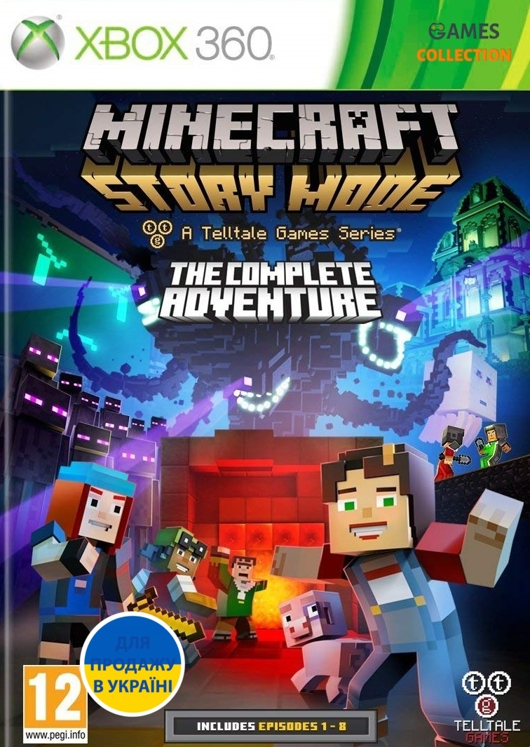 Minecraft: Story Mode – The Complete Adventure(XBOX360)-thumb