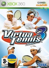 Virtua Tennis 3 (XBOX360) Б/У-thumb