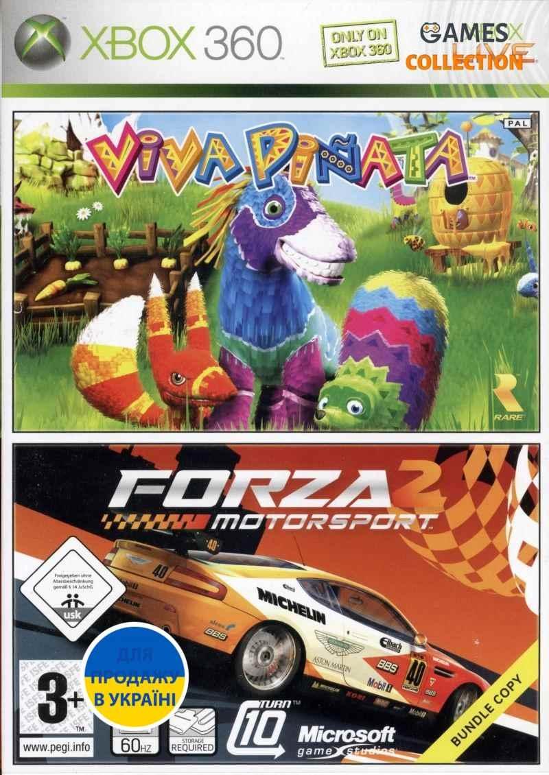 Forza Motorsport 2/Viva Piñata (XBOX360) б/у-thumb