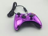 Фиолетовый джойстик XBOX 360 (PC)(ПРОВОДНОЙ)-thumb