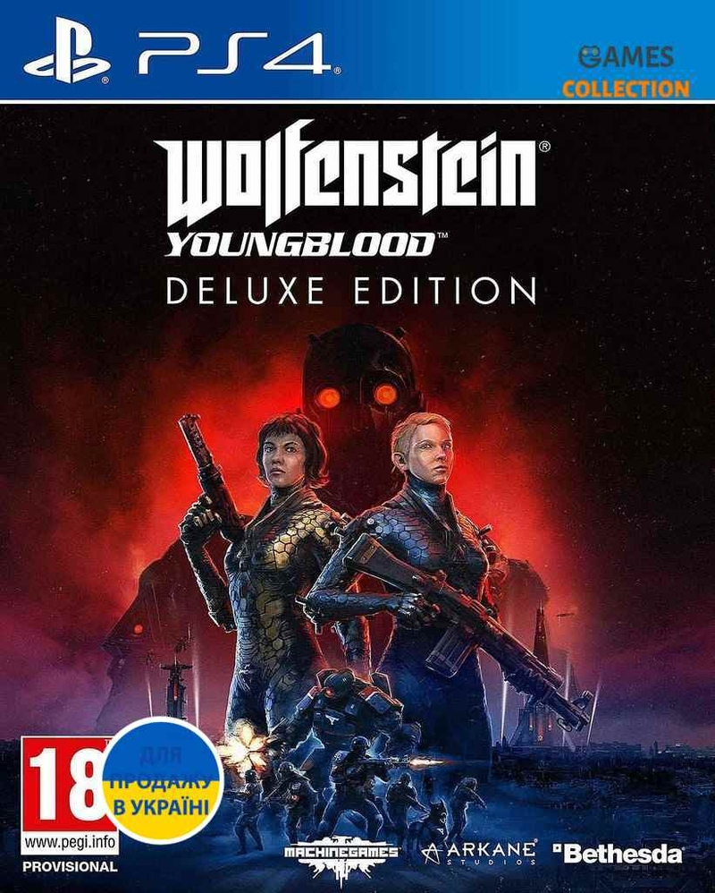 Wolfenstein Youngblood Deluxe Edition (PS4)-thumb
