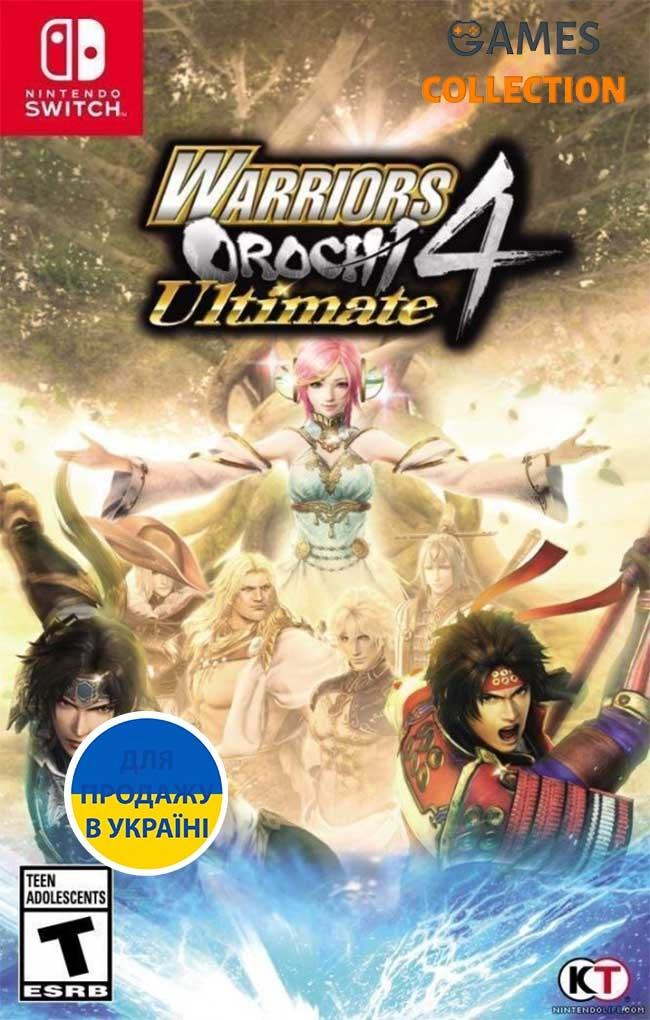 Warriors Orochi 4 Ultimate (Switch)-thumb