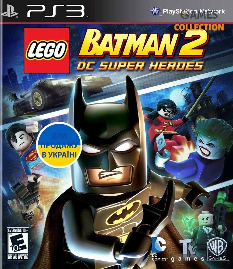 LEGO Batman 2: DC Super Heroes (PS3)-thumb