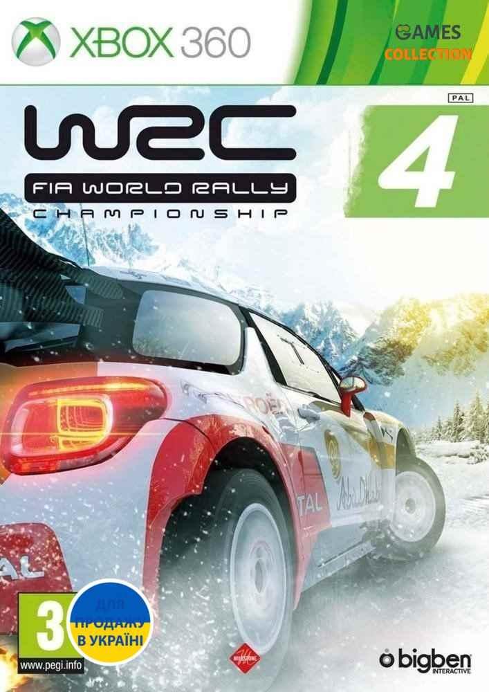 WRC: FIA World Rally Championship 4 (XBOX360)-thumb