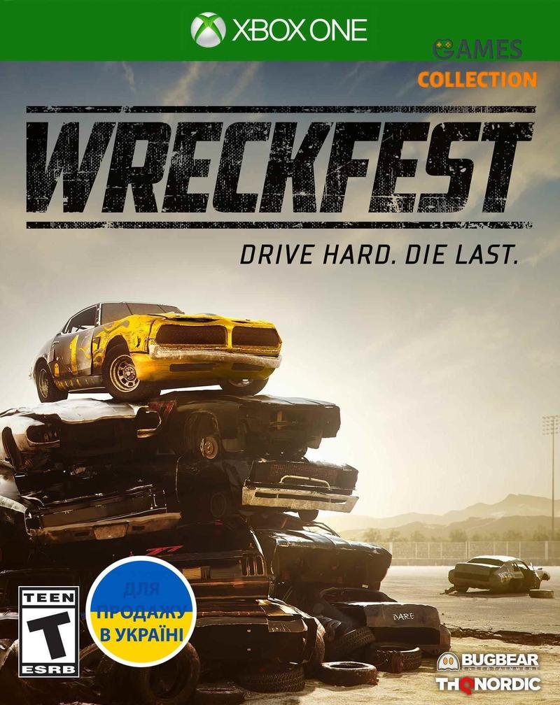Wreckfest (XBox One)-thumb