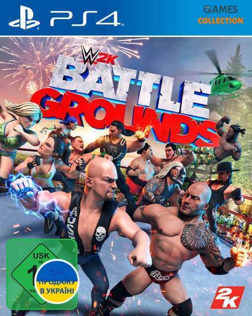 WWE: Battlegrounds (PS4)-thumb