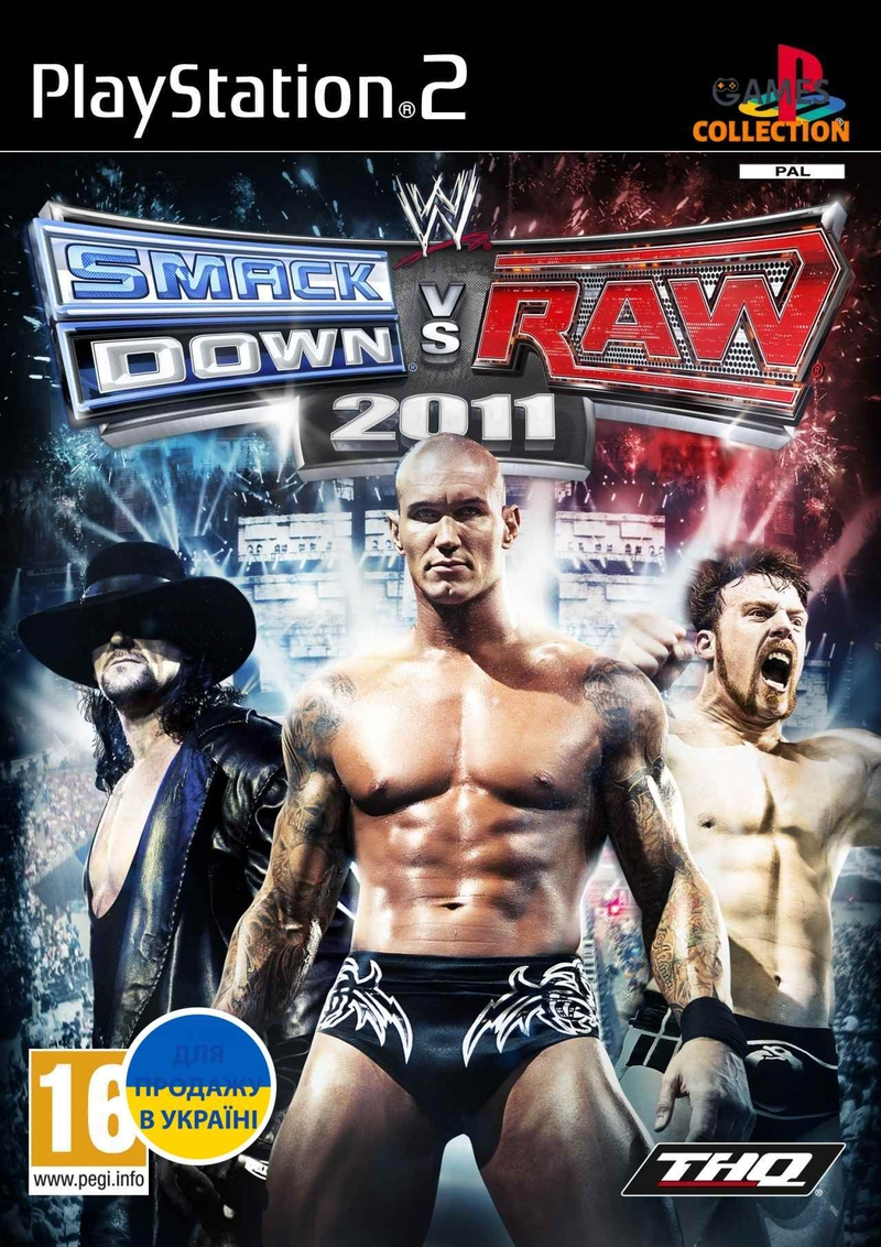 WWE Smackdown Raw 2011 (PS2)-thumb