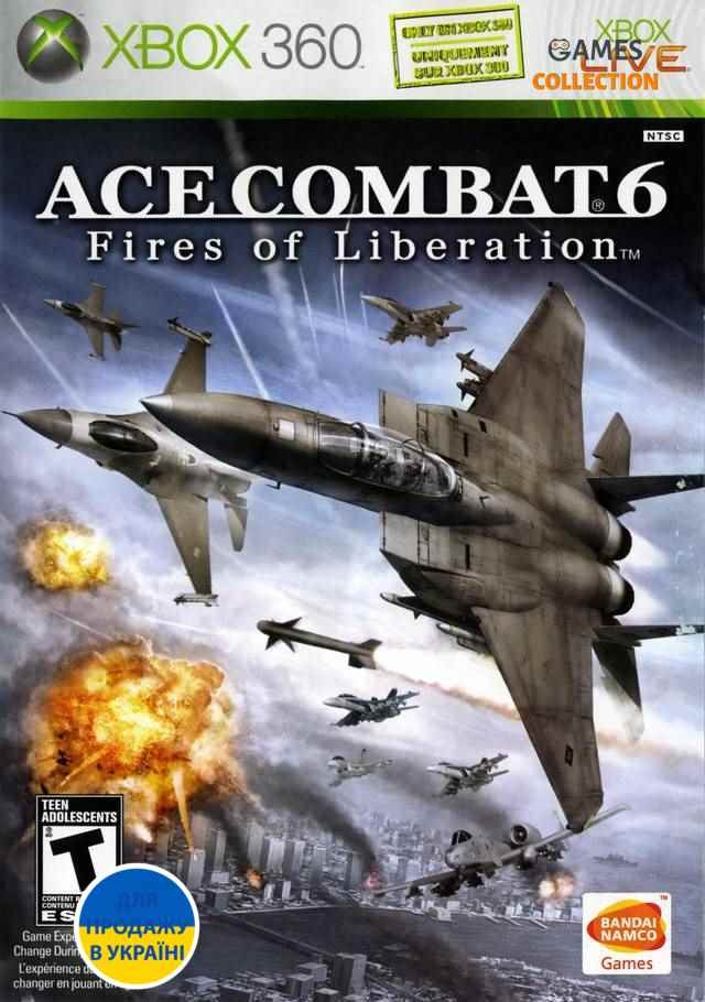 Ace Combat 6: Fires of Liberation (XBOX360) Б/у-thumb