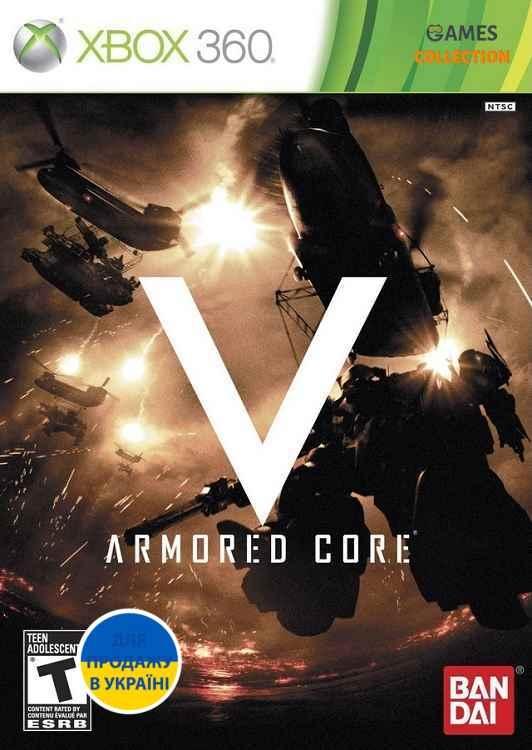 Armored Core V (XBox 360) Б/У-thumb