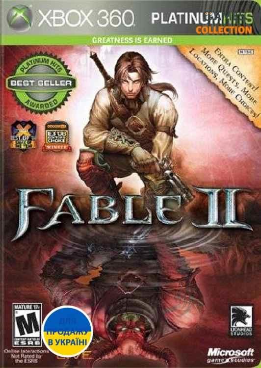 Fable II Лицензия (XBox 360/Xbox one) Б/У-thumb