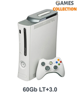 Xbox 360 FAT Black/White 60GB + LT+3.0-thumb