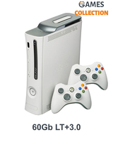 Xbox 360 FAT Black/White 60GB + LT+3.0 + 2-й джойстик-thumb