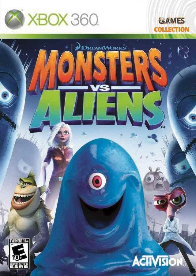 Monsters vs Aliens (XBOX360)-thumb