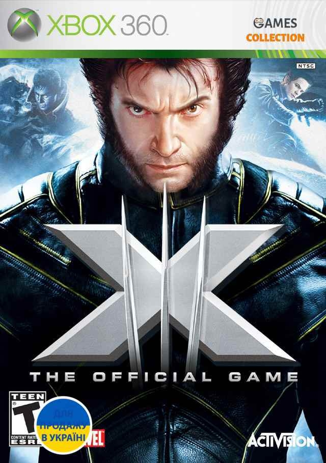 X-Men: The Official Game (XBOX360) Б/у-thumb