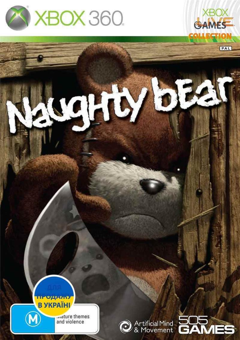 Naughty Bear (XBOX360)-thumb