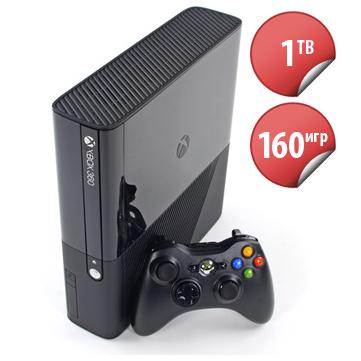 X-Box E 1TB (прошивка LT 3.0 + FREEBOOT + 160 игр)-thumb