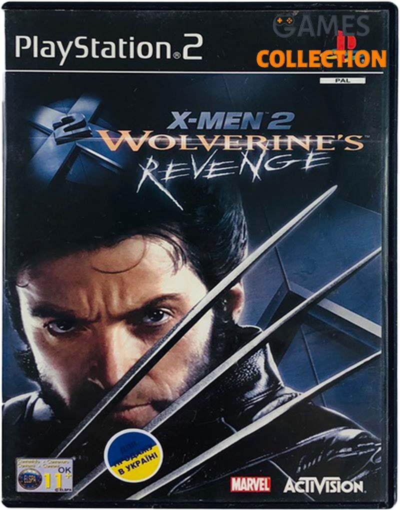 X-Men 2: Wolverine's Revenge (PS2) Б/У-thumb