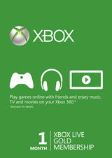 Xbox Live GOLD Статус 1 месяц-thumb