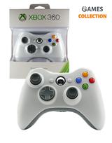 Джойстик Xbox360 (беспроводной) Белый-thumb