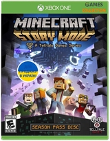 Minecraft Story Mode – Season 2 Pass Disc (Xbox One)-thumb