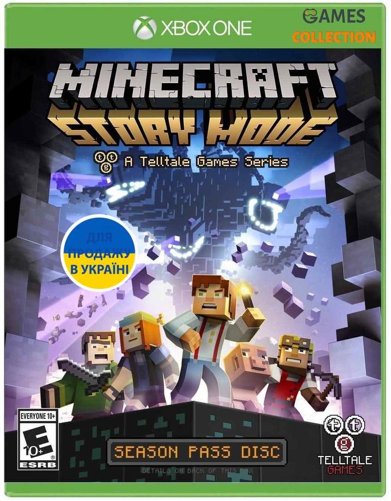 Minecraft Story Mode – Season 2 Pass Disc (Xbox One)-thumb