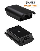 Крышка Батареи для Xbox 360 черная-thumb