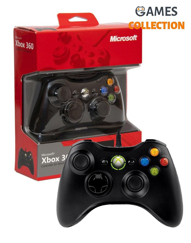Xbox 360 Джойстик (PC) (проводной)-thumb