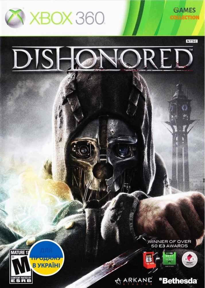 Dishonored (XBOX360) Б/У-thumb