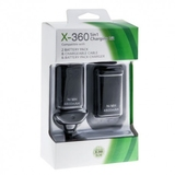 XBOX 360 4800mAh 2-in-1 Wireless Controller Battery Pack with USB Cable 4 in 1-thumb