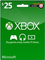 XBOX LIVE 25 USD КАРТА ОПЛАТЫ (USA)-thumb