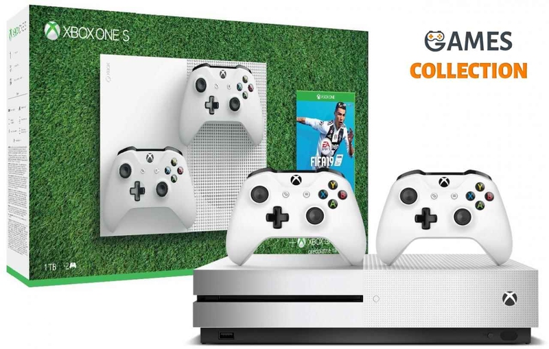 Xbox One Slim 1 TB + FIFA 20 (XBox One)-thumb
