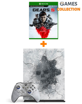 Microsoft Xbox ONE X 1 Tb+Ваучер на скачивание Gears 5/4/3/2/Ultimate Edition (XBOX ONE)-thumb