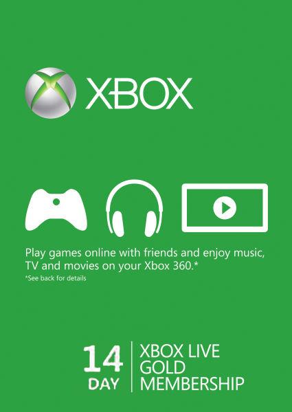 Xbox Live GOLD Статус 14 дней-thumb